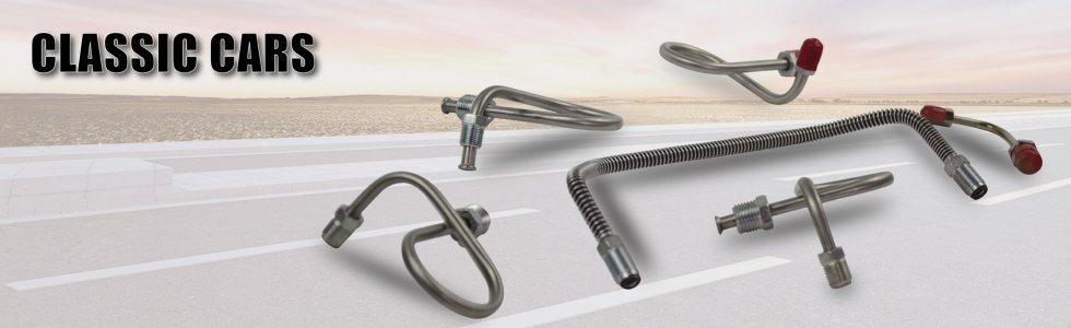 Classic cars - KST Brake hoses | Stainless Steel Braided